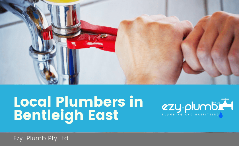 Local Plumbers Bentleigh East Banner