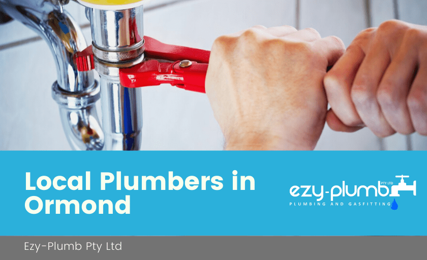 Local Plumbers Ormond Banner