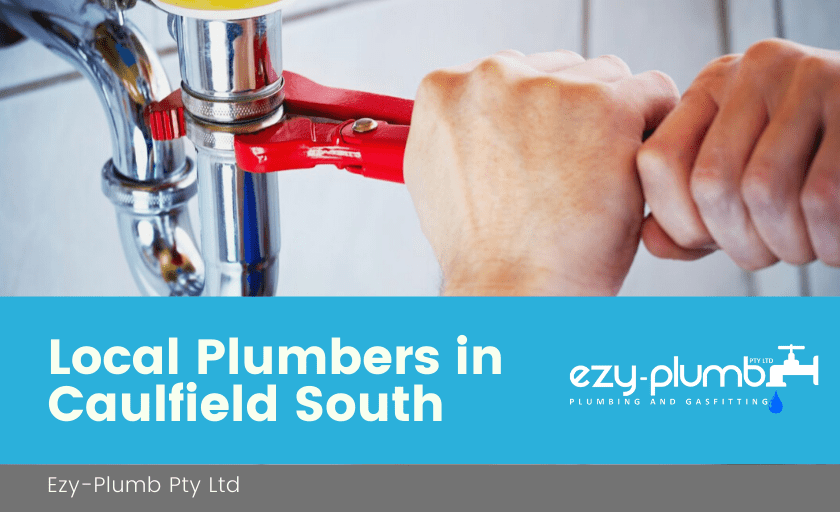 Local Plumbers Caulfield South Banner
