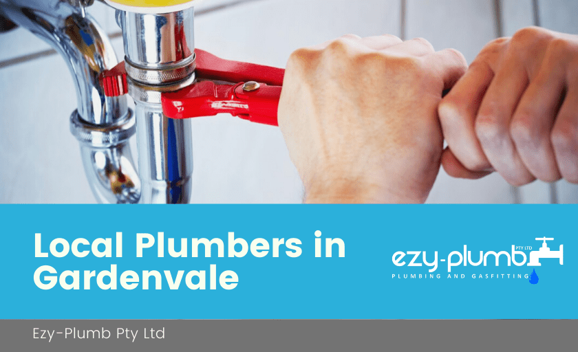 Local Plumbers Gardenvale Banner