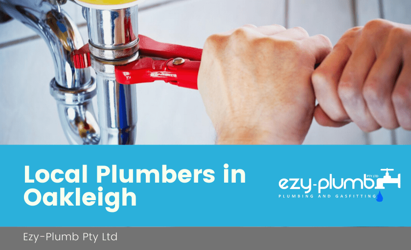 Local Plumbers Oakleigh Banner