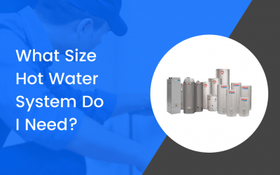 How To Know What Size Hot Water System You Need